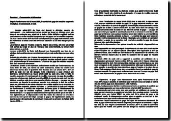 Depuis l'ordonnance du 23 mars 2006, le contrat de gage de meubles corporels n'est plus, ni consensuel, ni réel