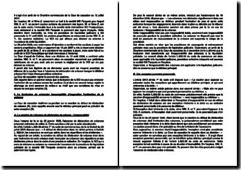 Commentaire d'arrêt de la Chambre commerciale de la Cour de cassation du 12 juillet 2011 : les moyens de défense de la caution