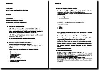 Le droit général et le droit notarial