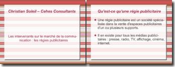 Les intervenants sur le marché de la communication: les régies publicitaires