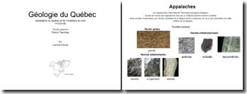 Géologie du Québec et de l'Amérique du nord