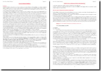 Cours de Libertés Publiques : l'affirmation des libertés et droits fondamentaux et les instruments de protection juridique des libertés