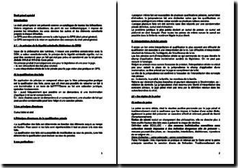 Droit pénal spécial : le principe de la légalité criminelle, l'individu, le groupe