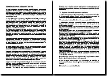 Commentaire d'arrêt de la Chambre criminelle de la Cour de cassation du 14 juin 1995 : la tentative d'attentats à la pudeur