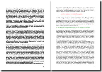 Commentaire d'arrêt de la Chambre civile de la Cour de cassation du du 24 mai 2005 : le silence vaut-il acceptation ?