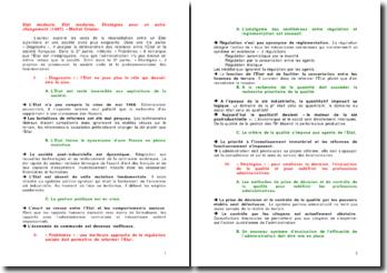 Etat modeste, Etat moderne, Stratégies pour un autre changement (1987) - Michel Crozier