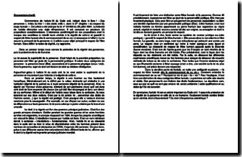 Commentaire de l'article 16 du Code civil