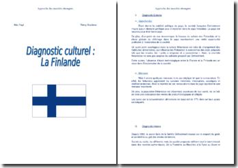 Le diagnostic culturel de la Finlande