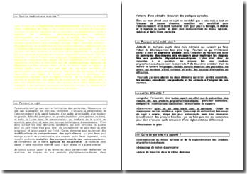 Exemple de présentation pour la soutenance d'un mémoire juridique