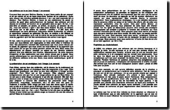 Exemples et illustrations sur des concepts de base en psychologie sociale