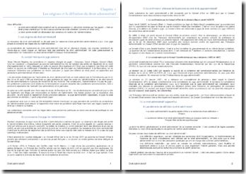 Les origines et la définition du droit administratif