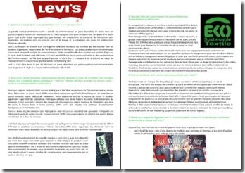 Etude de cas marketing sur la marque Levi's Eco
