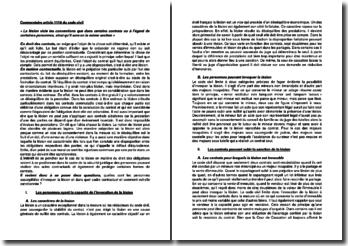 Commentaire article 1118 du Code civil