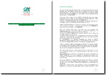 Rendre homogène la production assurance au sein de l'agence de Saint Denis