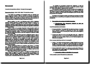 Commentaire de l'article L. 620-1 alinéa 1er du Code de commerce