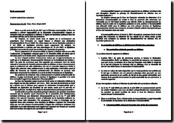 Commentaire d'arrêt de la Chambre commerciale de la Cour de cassation du 28 juin 2011 : l'intérêt collectif des créanciers