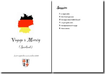 Voyage à Merzig