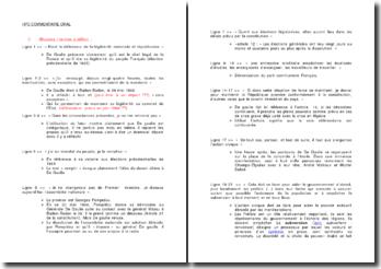 Explications sur le discours du Général de Gaulle à la radio