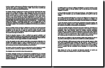 Commentaire d'arrêt de la Chambre commerciale de la Cour de cassation du 19 janvier 2010 : la nullité des conditions potestatives