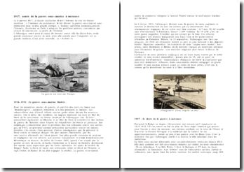 L'armée sous-marine en 1914