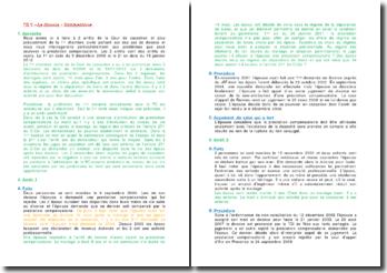 Commentaire d'arrêts de rejet de la Première Chambre civile de la Cour de cassation du 9 décembre 2009 et du 18 janvier 2012 : la prestation compensatoire