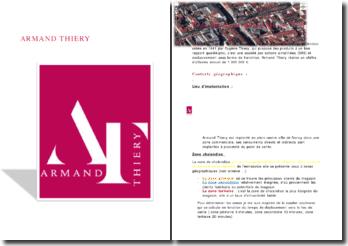Analyse de l'Unité commerciale d'Armand Thiery