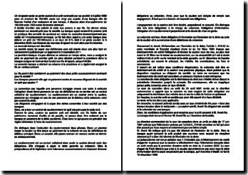 Etude de cas en droit des sûretés : le contrat unilatéral de cautionnement