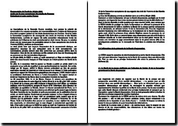 Commentaire de l'arrêt du 25 juin 2002 rendu par la Cour européenne des droits de l'homme : Colombani et autre contre France