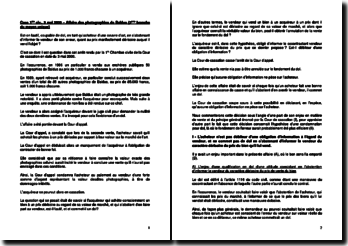Commentaire d'arrêt de la Première Chambre civile de la Cour de cassation du 3 mai 2000 : l'obligation d'information