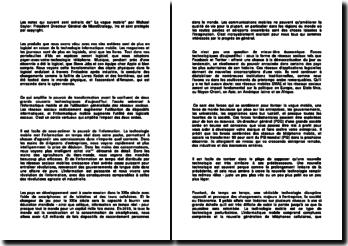 La vague mobile - Michael Saylor : notes de lecture