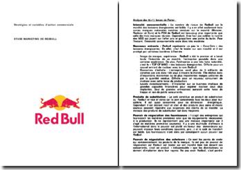Stratégies et variables d'action commerciale : le cas Redbull