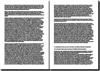 Commentaire d'arrêt de la Première Chambre civile de la Cour de cassation du 19 décembre 2012 : les biens propres et les biens communs