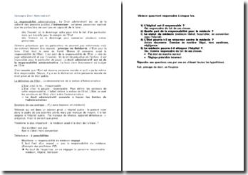 Concepts droit administratif