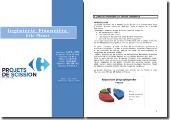 Les projets de scission du groupe Carrefour