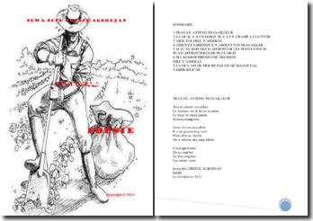 Recueil de poésie : travail