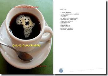 Recueil de poésies : Café d'Afrique