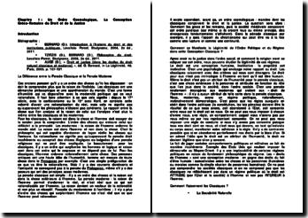 Un Ordre Cosmologique, La Conception Gréco-Romaine du Droit et de la Justice