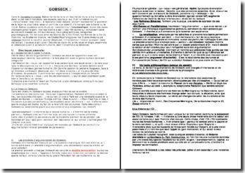 La Comédie Humaine - Balzac : le personnage de Gobseck