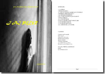 Recueil de poésies : J'ai peur