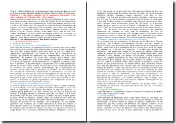 L'harmonisation et l'enrichissement des sources du droit de la fin du Moyen Age aux derniers siècles de l'Ancien Régime (XIIème - XVIIème siècle)