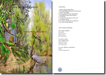 Recueil de poésies : Mon unique Requiem