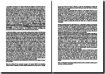 Commentaire d'arrêt de la Cour d'appel de Douai du 6 juin 2013 : la stabilité des filiations