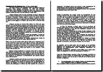 Commentaire d'arrêt de la Première Chambre civile de la Cour de cassation du 12 juin 2012 : la transformation d'une obligation alimentaire en obligation naturelle