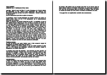 Fiche d'arrêt de la Première Chambre civile de la Cour de cassation du 17 mars 2010 : le nom de famille