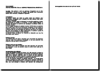 Fiche d'arrêt de la Première Chambre civile de la Cour de cassation du 28 janvier 2010 : la réparation de l'ensemble des préjudices