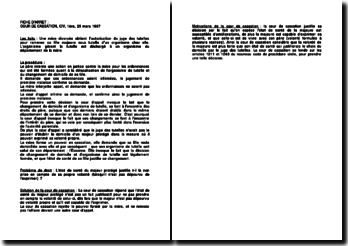 Fiche d'arrêt de la Première Chambre civile de la Cour de cassation du 25 mars 1997 : la volonté du majeur protégé