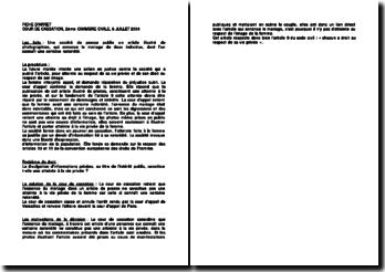 Fiche d'arrêt de la Deuxième Chambre civile de la Cour de cassation du 8 juillet 2004 : l'atteinte à la vie privée