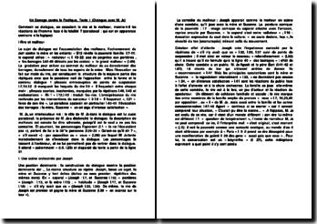 Un Barrage contre le Pacifique (Dialogue avec M. Jo). M. Duras