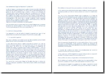 Commentaire d'arrêt de la Cour administrative d'appel de Marseille du 11 janvier 2013 : les critères d'identification d'un service public