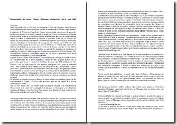 Commentaire de la déclaration du 9 mai 1950 de Robert Schuman